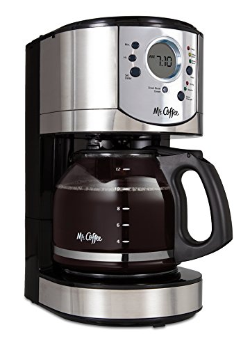 Mr. Coffee 12-Cup Programmable Coffee Maker...
