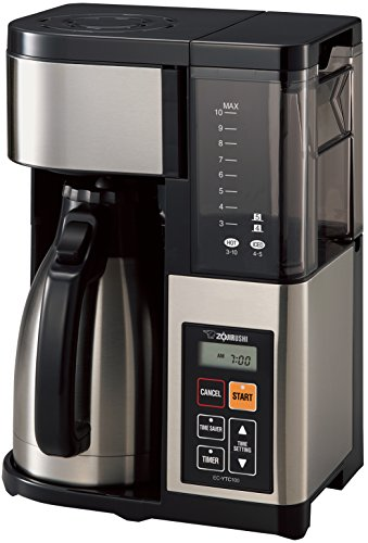 Zojirushi Coffee Maker, 10 Cup, Stainless...