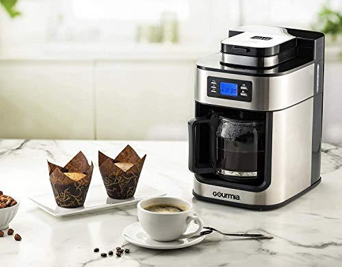 Coffee Maker,5 Cup Sizes Programmable Drip...